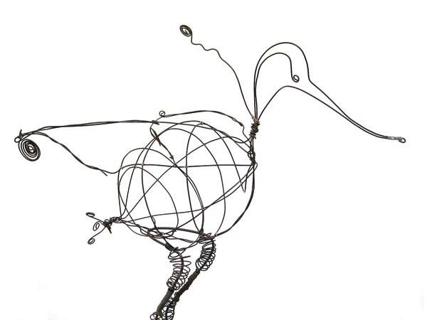 oiseau-avocette-fil-de-fer